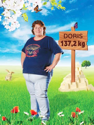 Biggest Loser-Kandidatin Doris